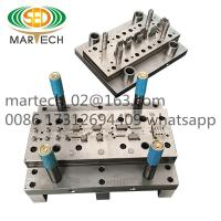 Buy cheap Customized professional 0.8mm phosphor bronze terminal progressive die from wholesalers