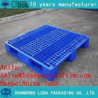 Buy cheap Heavy duty 1200*1100mm floor stacking blowing pallet from wholesalers
