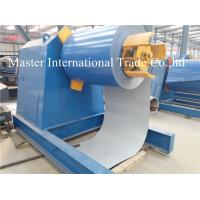 Buy cheap Automatic High speed Hydraulic Uncoiler / Decoiler Equipment With Conveyor from wholesalers