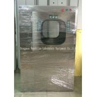 Wholesale Stainless Steel Air Shower Pass Thru Box Cleanroom With Electronic Interlocking System from china suppliers