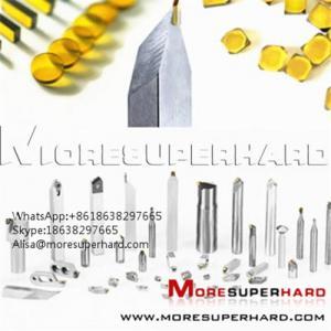 Wholesale HPHT Mono Crystal Diamond Plates  Alisa@moresuperhard.com from china suppliers