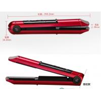 Quality 2400mAh Lithium Battery Operated Hair Straightener Cordless Flat Iron With USB Charging for sale