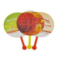 Quality Full Color Print Custom Hand Fans Business Gift For Advertising for sale