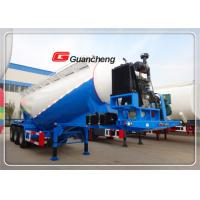 Wholesale Bulk Cement Transport Tanker Stainless Steel Tanks 3 Axle Bulk Semi Trailer from china suppliers