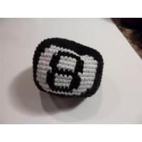 Wholesale Handwoven Knit 8 Ball embroidered Design Hacky Sack from china suppliers