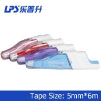 Wholesale Japanese Retractable Correction Tape Pink Colored Correction Tape Titanium Dioxide from china suppliers