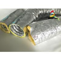Wholesale High Temperature HVAC 14 Inch Flex Heating Duct Insulation Wrap Single Layer Aluminum Foil from china suppliers