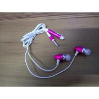 Wholesale Aluminum ear-lap in-ear earphones   mobile phone headphone bullet earbuds single-use earphone from china suppliers