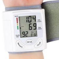 Wholesale Professional Health Care Wrist Portable Digital Automatic Blood Pressure Monitor Household from china suppliers