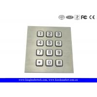 Wholesale 3 x 4 Matrix Numeric Backlit Keypad For Panel Mount 12 Illuminated Keys from china suppliers