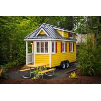 Buy cheap Wind Resistance Prefabricated Tiny House With 100 Years Lifetime from wholesalers