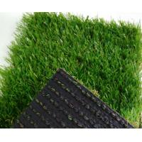 Quality PE/PP  Landscaping Artificial Grass Fake Turf  V shape Yarn 3/8inch 4 colors mixed for sale