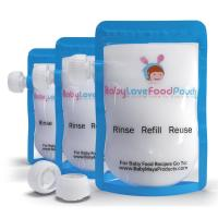 Wholesale Leak Proof Food Plastic Pouches Packaging Ziplock , Freezer Safe Breast Milk liquid pouch from china suppliers