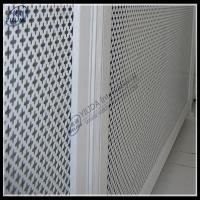 Wholesale aluminum perforated facade panel metal rust colour from china suppliers