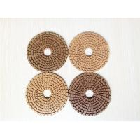 "Wholesale 4""/100mm Dry use Diamond Polishing Pads for Granite polishing from china suppliers"