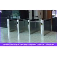 Wholesale Fingerprint Drop Arm Barrier with Single / Double Swing Turnstile from china suppliers