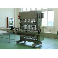 Wholesale Stainless Steel Glass Bottle Piston Filling Machine for Honey / Beverage And Cosmetic from china suppliers