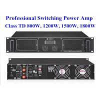Wholesale High Power 2 Channel 2U 1800w Class TD Digital Power Amplifier 483*408*89mm from china suppliers