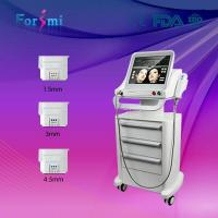 Wholesale 1.5mm / 3.0mm / 4.5mm depth head ultrasound skin tightening hifu ulthera face lift device from china suppliers