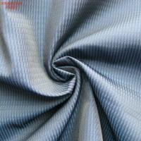 Wholesale F4297 100% polyester memory  fabric for outdoor jacket twill jacquard two tone weaving from china suppliers