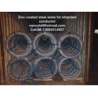 Wholesale Adhesive Flexible Galvanized Wire Cable , Guy Strand Wire 1.0mm-4.8mm Size from china suppliers