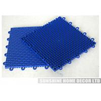 Wholesale Colorful Athletic Floor Mats , Portable Indoor Flooring Cover For Tennis Court from china suppliers