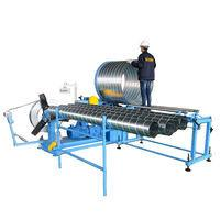 Wholesale 623361048551/5 Round Duct Elbow Making Machine Spiral Concrete Tube Pipe Culvert Duct Forming Machine from china suppliers