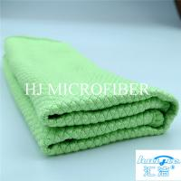 Wholesale Home Used Cleaning Towel Microfiber Terry Towel Green Color Washing Tool For Kitchen from china suppliers