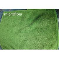 Quality 30*40 cm 450gsm Microfiber Dust Mop Green Twisted Super Water Absorption Floor Dust Mop for sale