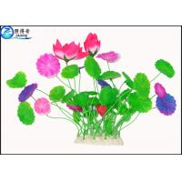Wholesale Green Leaf Plastic Aquatic Plants Poly Resin Aquarium Fish Tank Decorations from china suppliers