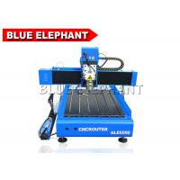 Wholesale Portable 6090 Mini Advertising Engraving Machine , Desktop Cnc Cutting Machine from china suppliers