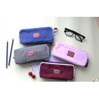 Buy cheap supply all kinds of high school canvas pencil case from wholesalers