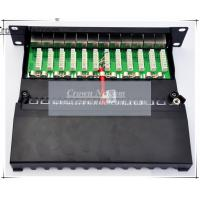 Wholesale NEW 10 Inch 12Port Patch Panel Cat6 Full Shielded Patch Panel Cat6 12Port Patch Panel Rack from china suppliers