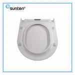 White Urea Flat European Quick Release Toilet Seat Manufacturer