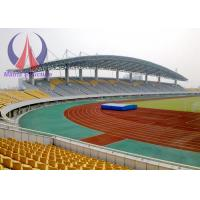 Wholesale Huge Architectural Fabric Tent Structures , Playground Sun Shades Tensile Membrane Canopy from china suppliers