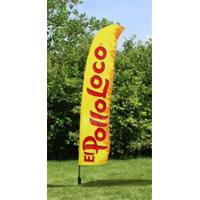 Wholesale Outdoor Business Flags And Banners , Full Color Pull Up Banner 4.6 Meter from china suppliers