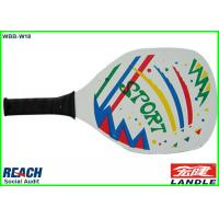 Wholesale Big Wood Beach Ball Racket / Paddle Tennis Rackets 34*20.5*0.32cm from china suppliers