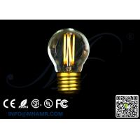 Wholesale Pro Edison Bulb Display LED G45 Globe Light 3W E27 E26 Lamp AC110v 120v 130v 220v 230v 240v DC12V Dimmable UL Approved from china suppliers