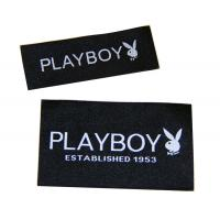 Wholesale Taffeta / Damask Canvas Clothing Woven Labels / Patches With Paper Backing from china suppliers