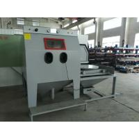 Buy cheap Turntable Dust Free Sandblasting Equipment Environmental Friendly With Sturdy And Robust Welded Construction from wholesalers