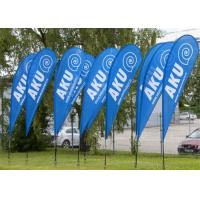 Wholesale Free Standing Beach Teardrop Flag Banner For Trade Show Display 3.8m from china suppliers