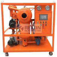 Quality 1800LPH Vacuum Dehydrator Oil Purification System , Commercial Oil Water Separator for sale