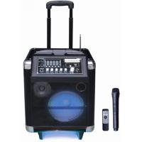 Wholesale 40 Watt Led Light Rechargeable Trolley Speaker Outdoor Portable PA System from china suppliers