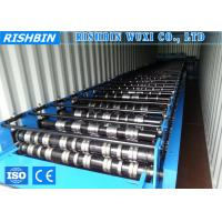 Wholesale 3 KW Power Manual Decoiler Metal Deck Roll Forming Machine for Steel Structure from china suppliers