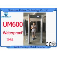 Quality Oval Shaped Walk Through Metal Detector With Anti Interference Function for sale