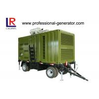 Wholesale CE 20kw - 800kw Trailer Generator For Outdoor Or Mobility Work from china suppliers