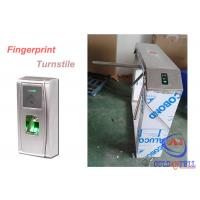 Wholesale Outdoor Durable Theftproof Fingerprint Turnstile Barrier Gate 304 Stainless Steel from china suppliers