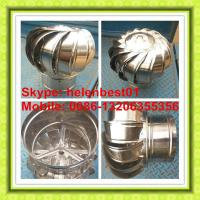 Wholesale 150mm wind driven turbine ventilator for chimney or tube stainless steel from china suppliers
