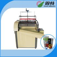 Wholesale Semi-automatic Paper Can Paper Jar Labeling Hot Melt Adhesive Packaging Machine from china suppliers