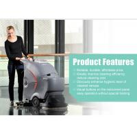 Quality Automatic walk behind battery type floor scrubber cleaning machine for sale